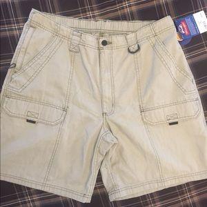 Wrangler Men's Hiker Shorts Flex Waistband 36